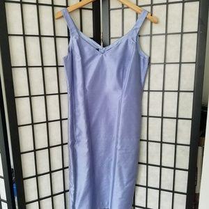 Dana Buchman Silk Periwinkle Dress